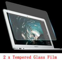"2x 9H Tempered Glass Guard Screen Protector for MacBook AIR PRO 13"" 15"" Touch"