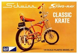 MPC 914 SCHWINN STING RAY CLASSIC CRATE MODEL KIT MOLDED IN YELLOW