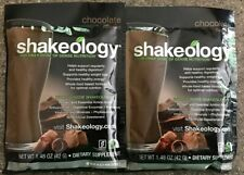 2 Chocolate Shakeology Single Serve Packets FREE SUPER FAST SHIPPING!
