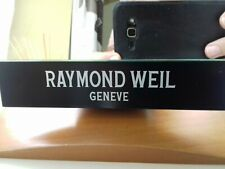 Vintage Rare genuine Raymond Weil Geneve watch shops display advertising mirror