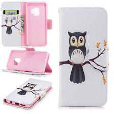 Cartera de bolsillo carcasa libro Diseño 23 para Samsung Galaxy S9 Plus G965f