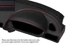 RED Stitch Driver Side Speedo DASH TRIM cuoio pelle copertura Adatta per BMW Z3 95-03