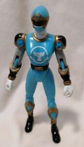 POWER RANGER - Bandai Power Ranger Ninja Storm Blue Wind Ninja Flash Figure 2002