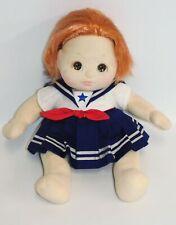 "My Child Red Hair Brown Eyes Baby Girl 14"" Doll w/Sailor Dress Vintage Mattel"