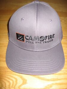 CAMOFIRE PULL THE TRIGGER EMBROIDERED NEW SNAP BACK BASEBALL HAT BY OUTDOOR CAP