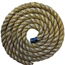 40MTS x 24MM THICK GRADE 1 MANILA DECKING ROPE FOR GARDEN & DECKING ROPE, AREAS