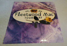 Fleetwood Mac giant Best Buy 1997 tour promo poster cell 4x4 foot