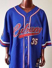 NLBM New York Cubans Men's Baseball Jersey Blue