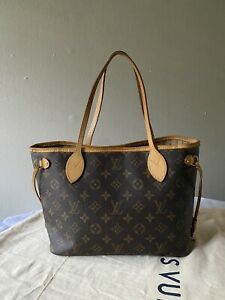 Louis Vuitton Neverfull PM Brown Monogram Coated Canvas Bag