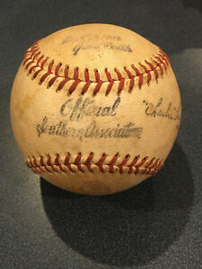 1950 Official Southern Association MacGregor Goldsmith Baseball & Box 97 League