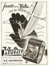 W3644 Apparecchi fotografici WELTA - Pubblicità 1940 - Advertising