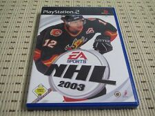 NHL 03 2003 per PlayStation 2 ps2 PS 2 * OVP *