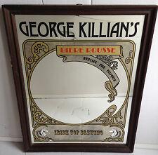 RARE MIROIR GEORGE KILLIAN'S BIERE ROUSSE PAR PELFORTH
