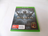 Mint Disc Xbox One Diablo III: Reaper of Souls Ultimate Evil Edition Free Post
