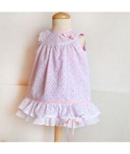 PAPER Printed SEWING PATTERN Summer Dress round yoke Baby toddler SPANISH STYLE