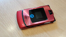 Motorola RAZR V3i RED+ Klapphandy + mit Folie + ohne Simlock *WIE NEU*