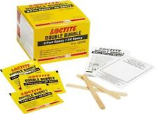 "Loctite ""Double-Bubble"" Epoxy 3G x 10 Sachet Adhesive Bonding Glue Kits  VC380A"