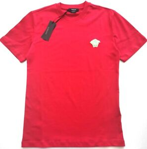 VERSACE MENS RED T-SHIRT