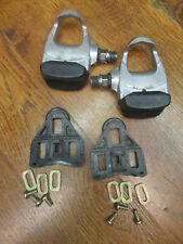 VINTAGE CAMPAGNOLO CLIPLESS ROAD BIKE PEDALS & CLEATS