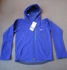 RAB Raptor Soft Shell Jacket DWS Mens M Medium New with tags mountaineering
