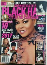Sophisticates Black Hair Styles And Care Guide May 2017 FREE SHIPPING sb