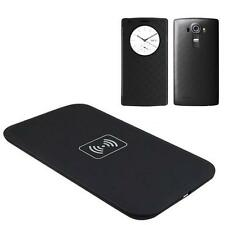 Qi Wireless Charger Charging Pad+Quick Circle Leather Case Cover for LG G4