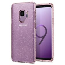 Spigen Galaxy S9 Liquid Crystal Glitter Rose Flexible Case (592CS22832)