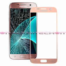 VETRO TOUCH SCREEN QUALITA ORIGINALE SAMSUNG GALAXY S7 G930 ROSA ORO PINK