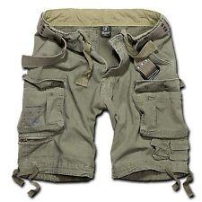 Brandit Savage Bermuda Cargo Shorts Oliv Grösse XL