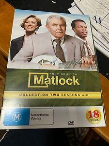 Matlock : Season 4-6 : Collection 2 DVD 18 Discs Set R4 VGC