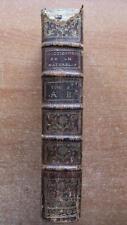 DICTIONNAIRE RAISONNE UNIVERSEL D'HISTOIRE NATURELLE T.1 -1775 VALMONT DE BOMARE