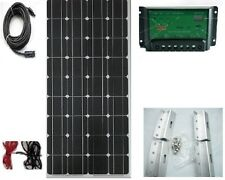 12V Xplorer Cell 100W  Solar Panel Kit   Caravan   Boat   Motorhome New