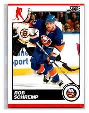 (HCW) 2010-11 Score Glossy #308 Rob Schremp NY Islanders Mint
