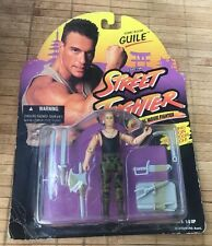 STREET FIGHTER  GUILE SONIC BOOM G.I. GI JOE 1994 HASBRO CAPCOM NEW
