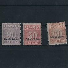 Colonie Eritrea Servizio Commissioni n. 1/3 tracce linguella