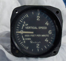 Post WW2 Beechcraft C-45 Type VSI Rate Of Climb Gauge Instrument