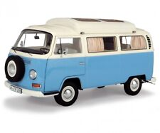 Schuco 1:18 Volkswagen T2a camping bus blue white Limited 1000 450043500