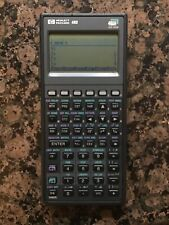 HP 48G Graphing Calculator with Quick Start Guide - Great Condition