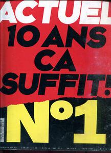 MAGAZINE ACTUEL N°1. Janvier 1991.