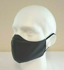 Face Mask Fitted, Pewter (single) Reusable/Washable, Dual Layered, Made in UK!