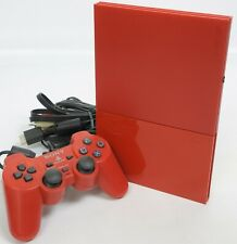 PS2 Slim Console SCPH-90000 Only for NTSC-J CINNABAR RED Playstation 2 HJ1654779
