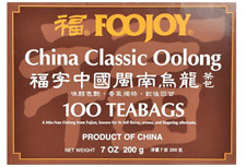 Foojoy China Classic Oolong (Wu Long) Weight Loss Tea 100 Tea Bags~FREE SHIPPING