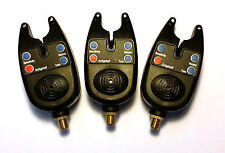 3 FISHING BITE ALARMS including batteries