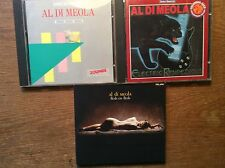 Al Di Meola [3 CD Alben] ZOUNDS Best of + Flesh on Flesh + Electric Rendezvous
