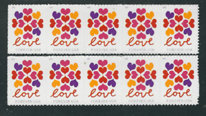 Forever... LOVE... 10 Stamps
