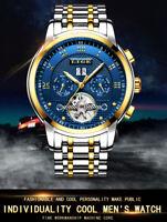 Sport Waterproof LIGE Watch Relogio Masculino Business Fashion Automatic Mechani