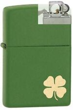 Zippo 21032 shamrock deere green Lighter with PIPE INSERT PL