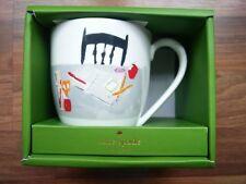 Kate Spade by Lenox Muses Academic Coffee Mug Nib China 14oz Designer Cup Tea