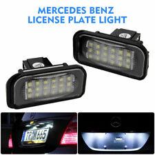 2X LED SMD TARGA LUCE PER Benz LICENZA LAMPADA  C E CLS SLK Class W203 W211 W219