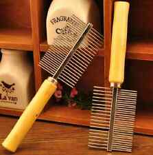 Pet Grooming Dog Cat Hair Shedding Flea Brush Comb Fur Trimmer Tool